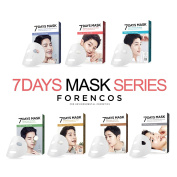 FORENCOS Seven 7Days Mask Sheets Series 25ml × 10Pcs Song Joong-Gi Daily Pack 7P