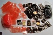 400 + 200 Free (Mystery) - 1.9cm w X 1.9cm h Tiny Halloween ZipLock Baggies