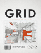 Premium Grid Paper for Pencil, Ink, and Marker. Great for Art, Design and Education. Loose Sheet Pack. (25 Sheets