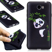 EC-Touch Fashion Style Colourful Painted Design [Ultra Slim][Perfect Fit][Scratch Resistant] Soft Case Back Cover Protector Skin For Huawei Series