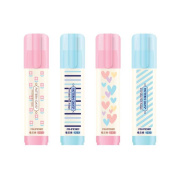 Creative writing stationery three layers erasers 4pcs