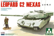 Takom - 1/35 Scale - Leopard C2 Mexas Canadian Mbt