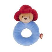 Paddington Bear Ring Rattle Soft Plush Baby Toy