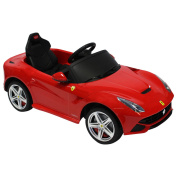 Ferrari F12 Berlinetta Licenced 6v Children's Ride On Electric Remote Car - Red