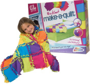 Make Your Own Quilt Blanket Childrens Kids Knitting Sewing Craft Toy