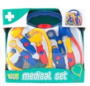 New Pretend And Play Doctors Medical Carry Case
