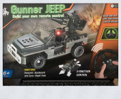 Radio Controlled Build Your Own . Gunner Jeep Age 6+