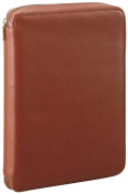 RAYMAYFUJII (Raymay) da Vinci system notebook A5 size brown DSA3001C business standard supermarket Royce leather ring 25mm round fastener type