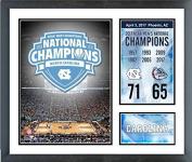 North Carolina Tar Heels 2017 NCAA National Champions 11 x 14 Custom Matted Photo Collage (Size