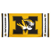 NCAA Missouri Tigers 30 by 60 Fibre Reactive Beach Towel