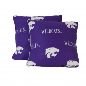 College Covers Kansas State Wildcats Pair of Decorative Pillow, 41cm by 41cm