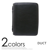 Diary cover A5 size 6 hole system pocketbook leather brand DUCT