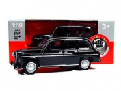 London Black Taxi Mini Model Made Of Die Cast Metal And Plastic Parts With Pull