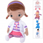 Plush Cuddly Soft Childrens Toy Doc Mcstuffins Characters Lambie Hallie Age 0+