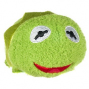 Disney Tsum Tsum Muppets Mini Soft Toy - Kermit, Kids Soft Plush Cuddly Toy