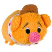 Disney Tsum Tsum Muppets Mini Soft Toy - Fozzie, Kids Collectable Cuddly Plush