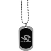NCAA Missouri Tigers Chrome Tag Necklace, 70cm