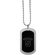 NCAA Syracuse Orange Chrome Tag Necklace, 70cm