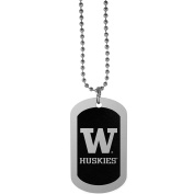 NCAA Washington Huskies Chrome Tag Necklace, 70cm