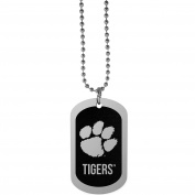 NCAA Clemson Tigers Chrome Tag Necklace, 70cm