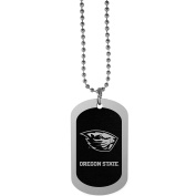 NCAA Oregon State Beavers Chrome Tag Necklace, 70cm