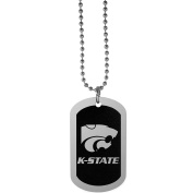 NCAA Kansas State Wildcats Chrome Tag Necklace, 70cm