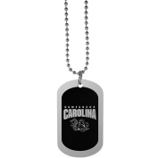 NCAA South Carolina Fighting Gamecocks Chrome Tag Necklace, 70cm