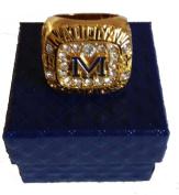YIYICOOL 1997 Michigan Wolverines championship Ring custom Size 11