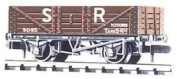 Sr Mineral Waggon - Peco Nr-40s - .