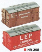 Peco Nr-208 1:148 N Scale Containers Br And Lep Removals