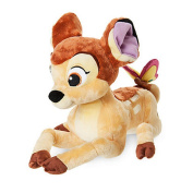Disney Store Bambi 27cm Bambi With Butterfly Soft Plush Cuddly Toy