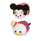 Rome Themed Mini Mickey Mouse And Donald Duck Tsum Tsum Set In Presentation Box