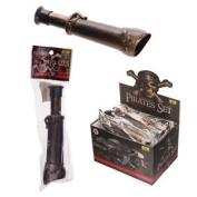 (1x) Fun Kids Plastic Novelty Pirate Telescope