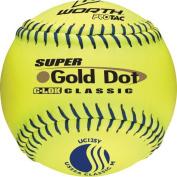 Worth 30cm USSSA Gold Dot Classic Slowpitch Softballs