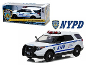 2015 Ford Police Interceptor Utility New York City Police Department (NYPD ) 1/18 Model Car by Greenlight