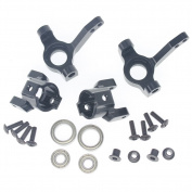 Hobbypark Steering Aluminium Knuckle & C Hub Carrier (L/R) Set For AXIAL SCX10 AX90022 AX90027 AX90028 AX90035 Option Parts