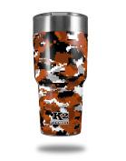 Skin Decal Wrap for K2 Element Tumbler 890ml - WraptorCamo Digital Camo Burnt Orange (TUMBLER NOT INCLUDED) by WraptorSkinz
