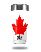 Skin Decal Wrap for K2 Element Tumbler 890ml - Canadian Canada Flag (TUMBLER NOT INCLUDED) by WraptorSkinz