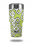 Skin Decal Wrap for K2 Element Tumbler 890ml - Locknodes 03 Sage Green (TUMBLER NOT INCLUDED) by WraptorSkinz