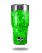 Skin Decal Wrap for K2 Element Tumbler 890ml - Triangle Mosaic Green (TUMBLER NOT INCLUDED) by WraptorSkinz