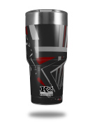 Skin Decal Wrap for K2 Element Tumbler 890ml - Baja 0023 Red Dark (TUMBLER NOT INCLUDED) by WraptorSkinz
