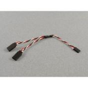 Logic Futaba Y Lead (silicone) 150mm - P-lgl-fty150s