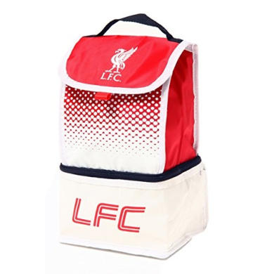 Liverpool FC Football Team Insulated Fade 2 Compartment Lunch Bag