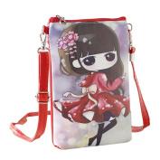 squarex Lovely Girls Shoulder Bags Princess Handbags & Cartoon Handbags Kids Girls Mini Crossbody Bag