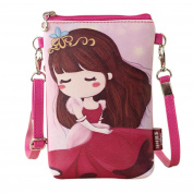 squarex Lovely Girls Shoulder Bags Princess Handbags & Cartoon Handbags Kids Girls Mini Crossbody Bag
