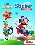 Disney Clubhouse Mickey Mouse Sticker Scenes Paperback Book - Ages .