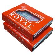 Royal 100% Plastic Playing Cards - 4 Deck Set - Bridge Size Cards