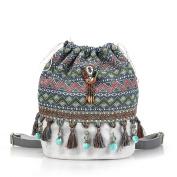 Ethnic Boho Backpack Bag girl's Bohemian style bags for travel women 2017 – 3858