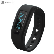 Fitness Tracker Watch, InnKoo U2 Pedometer Band Calories Counter Smart Sports Bracelet Wristband Activity and Sleep Monitor, Bluetooth Sync Anti-lost Long-time Standby