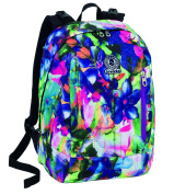 Backpack REVERSIBILE INVICTA TWIST - SIGN - Green Violet Pink 26Lt